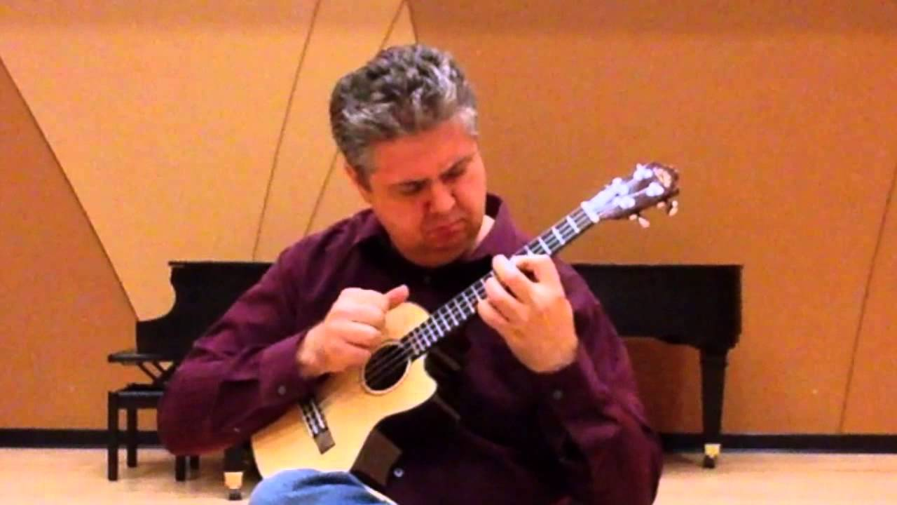"James Cline-""While My Guitar Gently Weeps"" performance ..."
