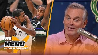 Colin reacts to Bucks forcing a Game 7, Mavericks need to get Luka a No. 2   NBA   THE HERD