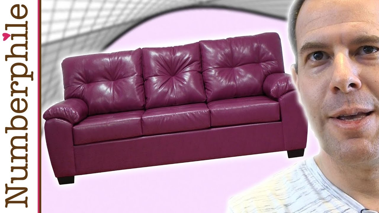 Exceptional The Moving Sofa Problem   Numberphile