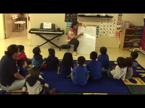 Mandarin lesson at Bright Children Montessori Academy