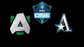 Alliance vs Team Aster ESL One Katowice 2019 Highlights Dota 2