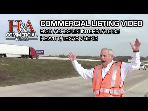 Waco Commercial Real Estate For Sale: 9.36 Acres on I-35 | Hewitt, Texas 76643