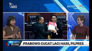 """Saya Terkejut Prabowo Gugat Lagi Hasil Pilpres ke MA"""