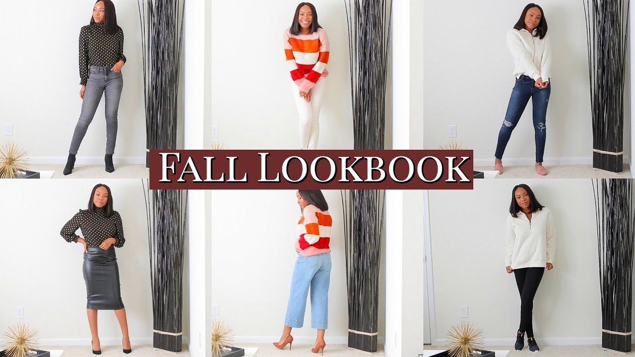 [VIDEO] – 6 AFFORDABLE FALL OUTFIT IDEAS LOOKBOOK | FALL FASHION TRY-ON HAUL