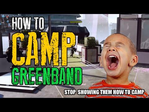 Advanced Warfare: The Best Way To Camp Greenband