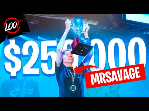 Meet MrSavage, The 15 Year Old $250,000 Tournament Champion!