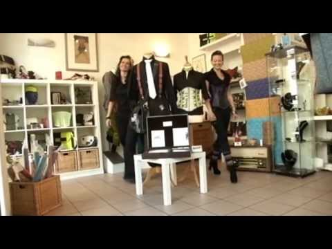 DAS! Beitrag über Feurwehrschlauch-Design von k&k pirate business aus Hannover.
