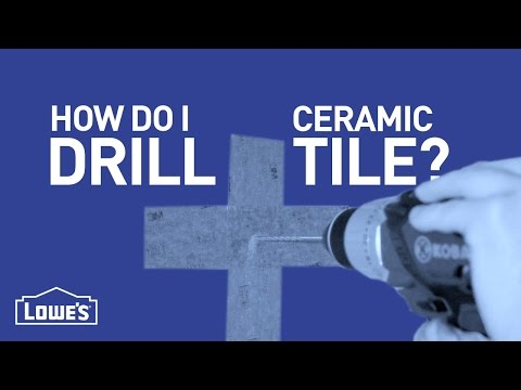 How Do I Drill Ceramic Tile? | DIY Basics