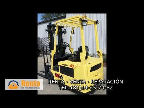 Montacargas Hyster J40ZT - Renta De Montacargas En Monterrey