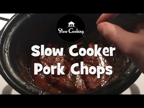 These Slow Cooker Pork Chops are Really Soft and Full of Flavour