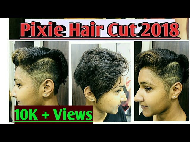 ???? Short pixie Hair cut 2018 / Transformation / Makeover / short hair cut/ pixie cut / Indian girl