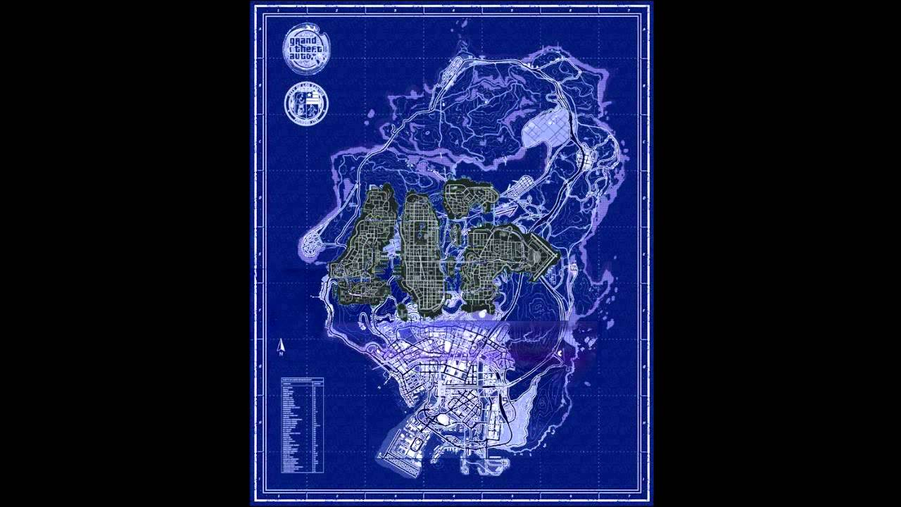 GTA V map vs GTA IV map (size compared)