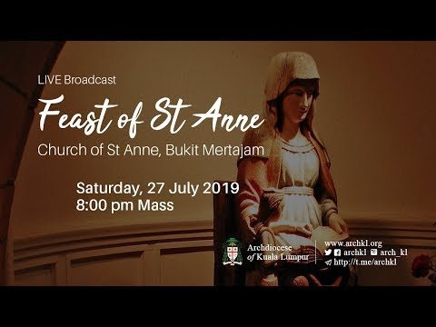 Mass - Feast of St Anne
