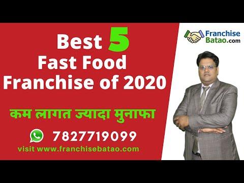 5 Fast Food Franchise Of 2020   Cloud Kitchen, Kiosk & Take Away QSR Franchisee   Franchise In India