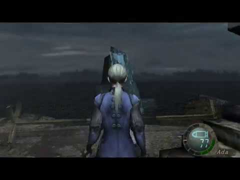 Resident Evil 4 Mod Jill Valentine Battle Suit Re5 Youtube