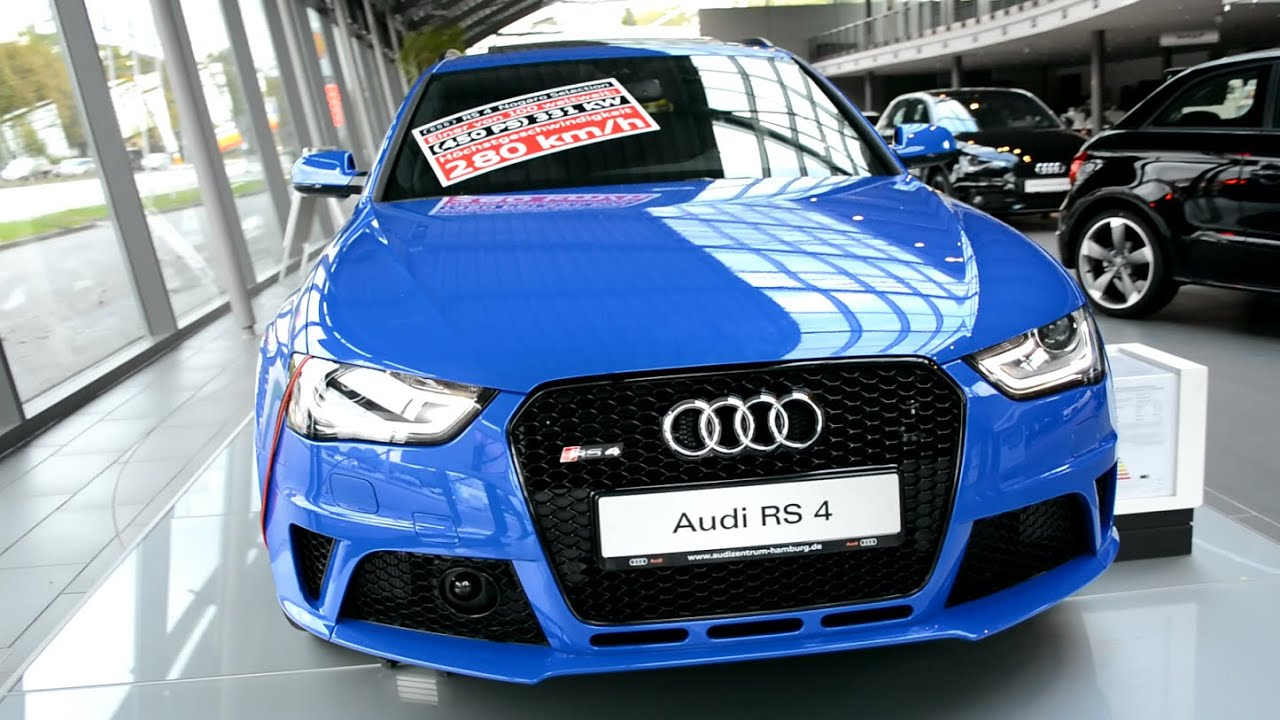 2015 new audi rs a4 avant quattro exterior and interior youtube. Black Bedroom Furniture Sets. Home Design Ideas