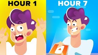 I Watched Youtube For 24 Hours - Funny Challenge