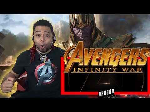 AVENGERS: INFINITY WAR - OFFICIAL TRAILER REACTION! (R.I.P. TO EVERYTHING!!! RAAAWR)