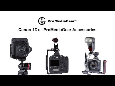 Canon 1Dx Mark II Accessories Overview By ProMediaGear