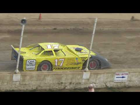 Late Model B Feature #2 at Crystal Motor Speedway, Michigan on 09-17-2017!!