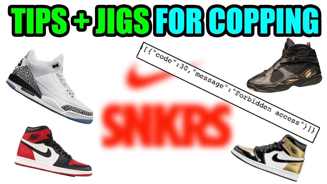 12c33f504aa JIGS + TIPS FOR COPPING ON NIKE SNRKS ! AVOID ERRORS / IP BAN -PEOPLE JIG  *UPDATED*