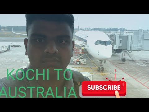 Kochi To Australia Flight Review Singapore Airlines