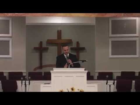 Serving A Holy God - Bro. Allen Domelle - Sunday Evening, August 23, 2015