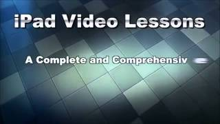 iPad Video Lessons Is A Full Online Video Tutorial Course To Teach iPad Users...