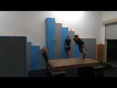 PARKOUR  GYM  🏋🏻  | Freedom in Motion