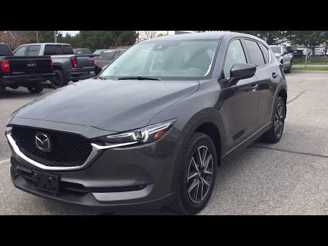 Gray 2017 Mazda CX-5  Review Oshawa null - Mills Motors Buick GMC