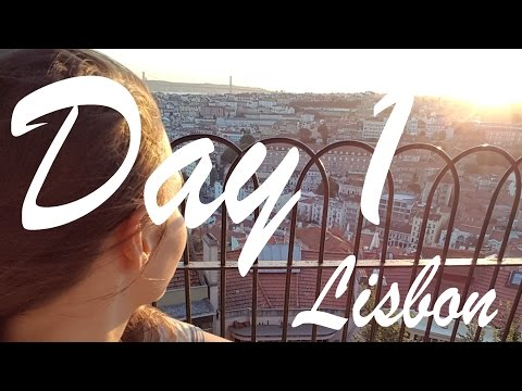 Lisbon Day 1 | Castle, Sunset, Tram, Waterfront, and More