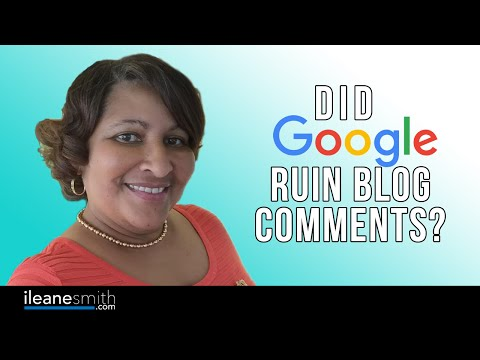 Did Google and SEO Destroy Commenting on Blogs? - 동영상