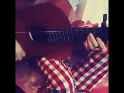 Nigar Muharrem..Omuzumda aglayan bir sən..Gitarada Qısa Bir klip