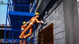 Характерные нарушения правил работ на высоте