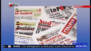 REPLAY - Revue de Presse - Pr : MAMADOU MOUHAMED NDIAYE - 21 Mars 2019