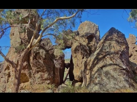Hanging Rock Victoria. Australia