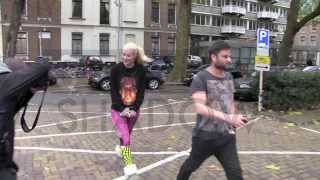 EXCLUSIVE - Iggy Azalea went back to the Intercontinental Hotel in Amsterdam