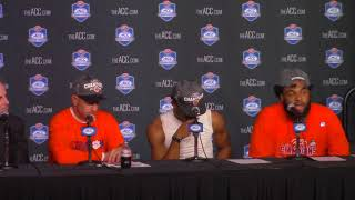Clemson 38 Miami 3: Dabo Swinney, Kelly Bryant, Christian Wilkins postgame press conference