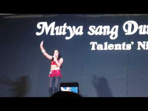 ARNELYN ORTIZ during the MUTYA SANG DUMALAG 2016 Talents' Night