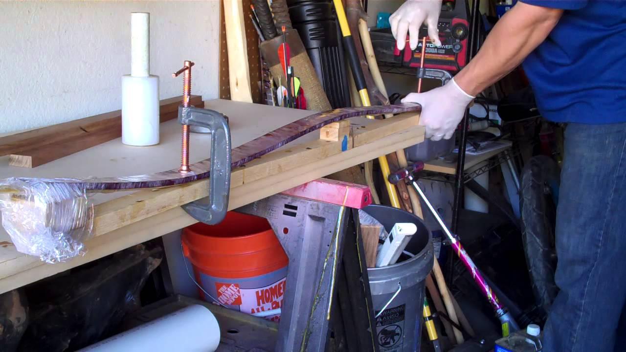 Making Reflex  Deflex Curves For A Hybrid Longbow    With