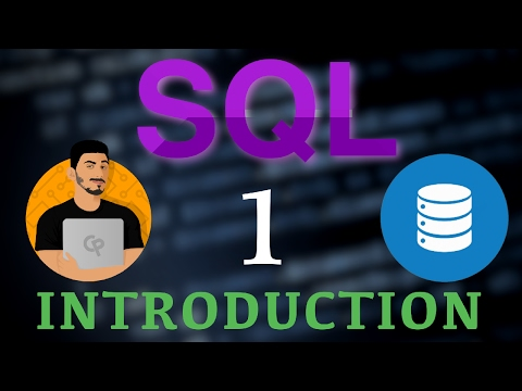 Learn SQL Programming - 1 - Intro to SQL