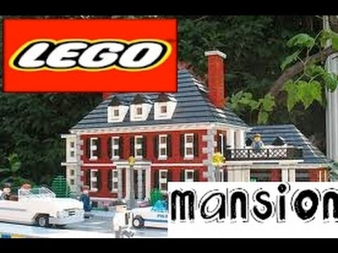 How to build a lego mansion part 1 youtube for How to build my house