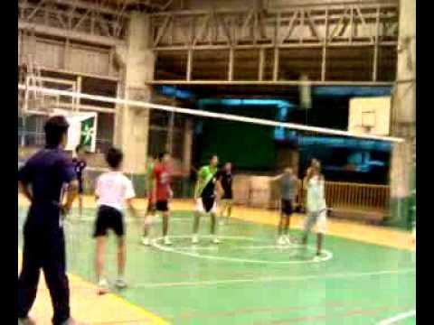 rizal high school vs la salle greenhills volleyball game