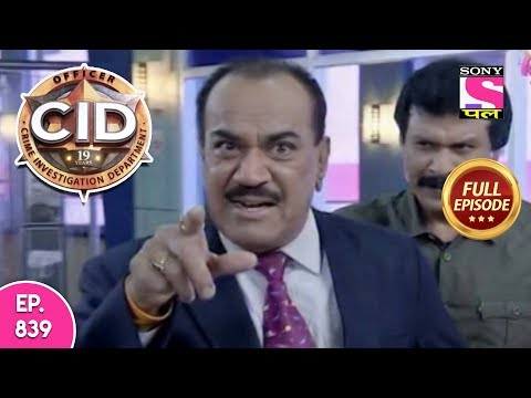 CID - Full Episode 839 - 12th November, 2018