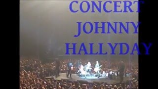 CONCERT JOHNNY HALLYDAY - Tournée