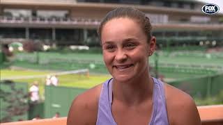 1 on 1 with Ash Barty | Wimbledon