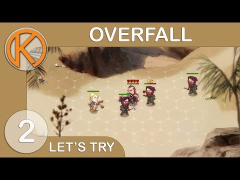 Let's Try Overfall - Talking Corpse [2] - Steam Early Access / Tactical RPG