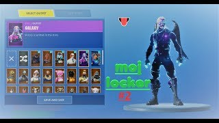 SHOWING MY LOCKER at FORTNITE #2 (20 + new skins, 65 skins total)