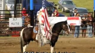 Sam Stanke Miss Rodeo North Dakota 2011 Rodeo Grand Entry
