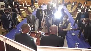 L'ambiance qui régné en Angola ,pendant le séjour du VPM Gilbert Kankonde Malamba